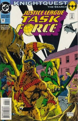 Justice League Task Force Vol 1 6