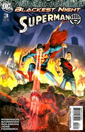 Blackest Night Superman Vol 1 3