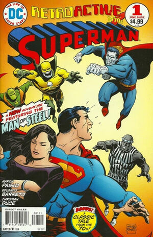 DC Retroactive Superman The 70s Vol 1 1