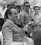 Al Capp at 1966 Art Festival in Florida
