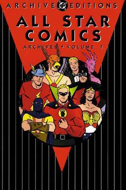 Cover for the All-Star Comics Archives Vol 1 7 Trade Paperback