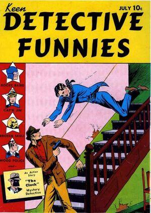 Keen Detective Funnies Vol 1 1