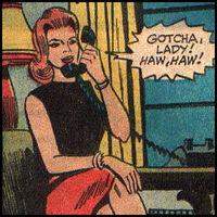 Rose Wayne Raymond (Earth-MLJ) of Mighty Comics Vol1 40