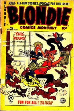 Blondie Comics Vol 1 34