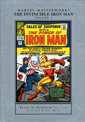 Marvel Masterworks Invincible Iron Man HC Vol 1 2