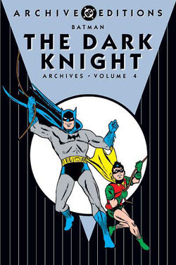 Cover for the Batman: The Dark Knight Archives Vol 1 4 Trade Paperback