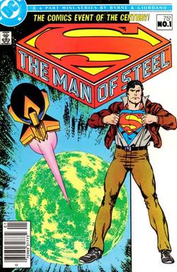 Comic Book - Man of Steel 1 (1986)
