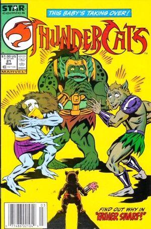 ThunderCats Vol 1 21 Newsstand