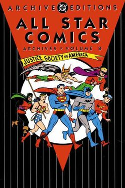 Cover for the All-Star Comics Archives Vol 1 8 Trade Paperback