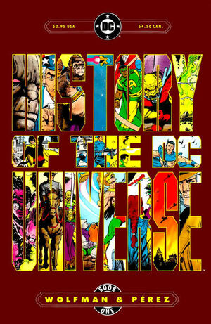 History of the DC Universe Vol 1 1