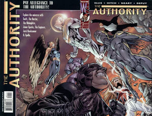 Cover for The Authority #1 (1999)