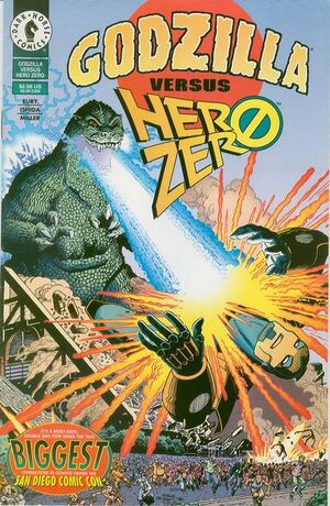 Godzilla vs. Hero Zero Vol 1 1
