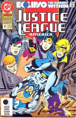 Justice League America Annual Vol 1 6