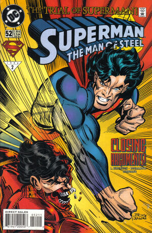 Superman Man of Steel Vol 1 52