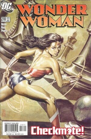 Wonder Woman Vol 2 218