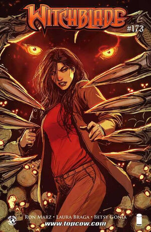 Cover for Witchblade #173 (2014)