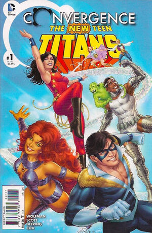 Convergence New Teen Titans Vol 1 1