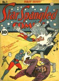 Star-Spangled Comics Vol 1 1