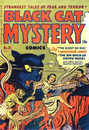 Black Cat Mystery Comics Vol 1 31