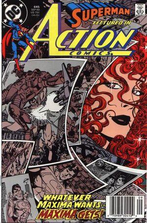 Action Comics Vol 1 645