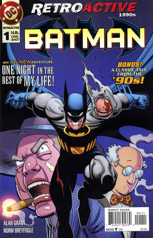 DC Retroactive Batman The '90s Vol 1 1
