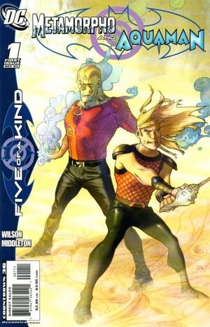 Outsiders FOAK Metamorpho Aquaman Vol 1 1