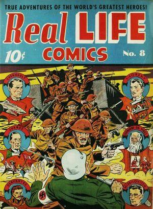 Real Life Comics Vol 1 8