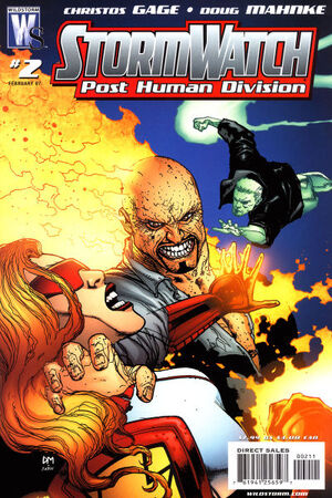 Stormwatch Post Human Division Vol 1 2