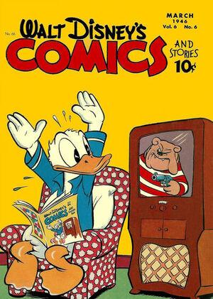 Walt Disney's Comics and Stories Vol 1 66
