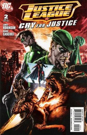 Justice League Cry for Justice Vol 1 2