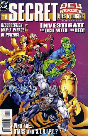 DCU Heroes Secret Files and Origins Vol 1 1