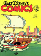 Walt Disney's Comics and Stories Vol 1 9