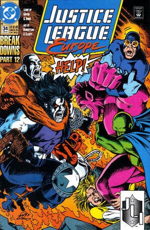 Justice League Europe Vol 1 34
