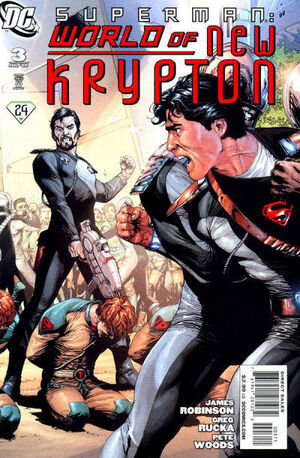 Superman World of New Krypton Vol 1 3