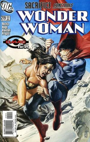 Wonder Woman Vol 2 219