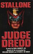 Judge Dredd Movie Adaptation Novel