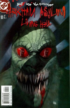 Arkham Asylum Living Hell Vol 1 4
