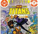 New Teen Titans Annual Vol 1