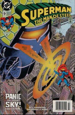Superman Man of Steel Vol 1 9