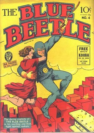 Blue Beetle (Fox) Vol 1 4