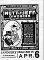 Mutt and Jeff Divorced front 1920