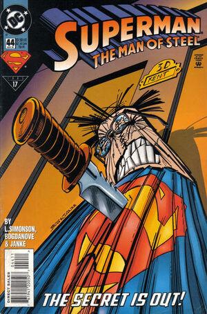 Superman Man of Steel Vol 1 44