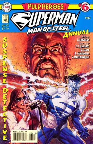 Superman Man of Steel Annual Vol 1 6