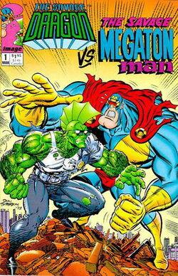 The Savage Dragon Vs. The Savage Megaton Man Special