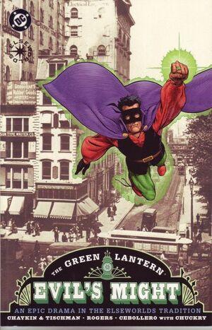 Green Lantern Evil's Might Vol 1 1