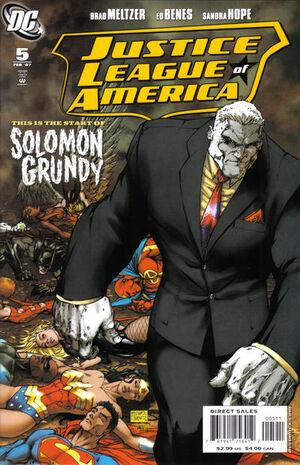 Justice League of America Vol 2 5