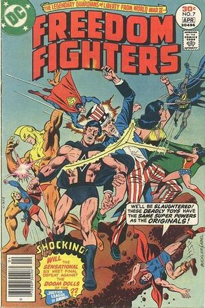 Freedom Fighters Vol 1 7