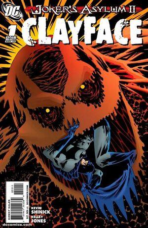 Joker's Asylum II Clayface Vol 1 1