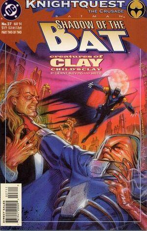 Batman Shadow of the Bat Vol 1 27