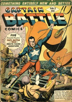 Capt. Battle Comics Vol 1 2